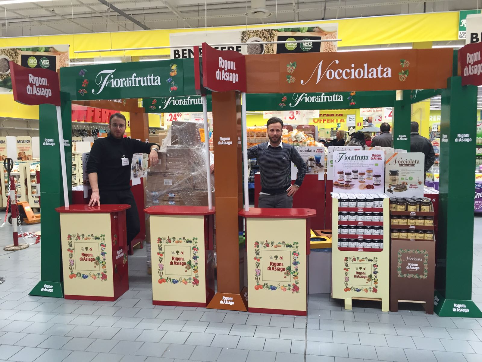 Degustazioni Rigoni di Asiago in Campania